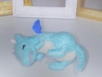 羊毛♪おやすみミニドラゴンの画像