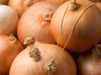『野菜モチーフのアクセサリー/ピアス』 oignonの画像