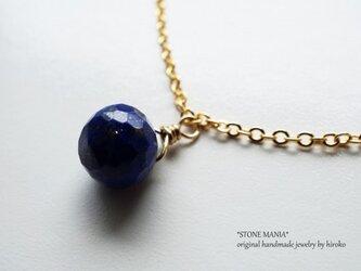 ♡amulet♡bracelet♡宝石質ラピスラズリ♡の画像