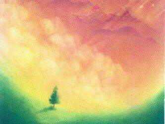 「夢の向こうへ…」(パステルアート)の画像