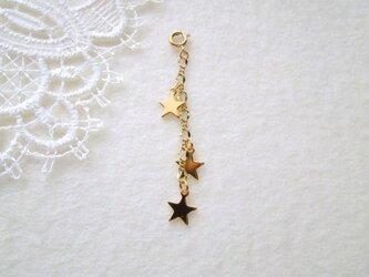 三つ星のブレスレットアジャスター Gの画像
