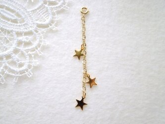三つ星のネックレスアジャスター Gの画像