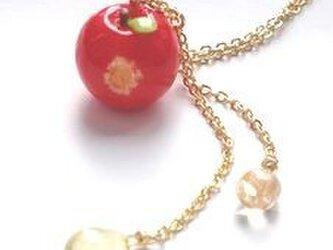 ぷち蜜りんごネックレスの画像