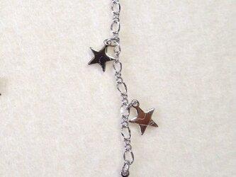 三つ星のネックレスアジャスター Rの画像