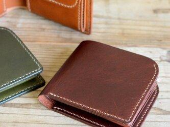 二つ折り財布「Curve」の画像