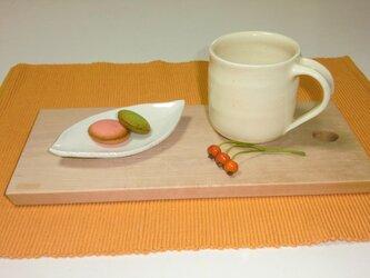 アイボリーマグカップの画像