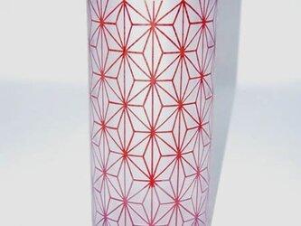 麻の葉紋様花器の画像