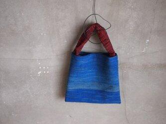 裂き織り/ウルトラマリン candyバッグ (+orimi)の画像