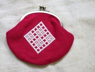こぎんがま口 -赤-の画像