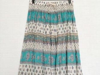 ラウンドスカート(ミディアム丈)の画像