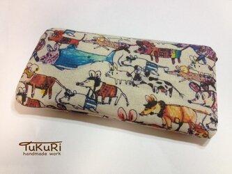 ねずみカーニバルの長財布の画像