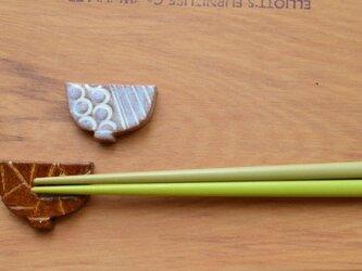 箸置き  お茶碗モチーフ2個セットの画像