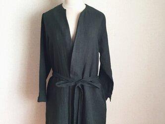【ご予約商品】ベルギーリネン コートジャケットの画像