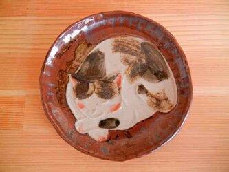 猫型押し小手皿:aの画像
