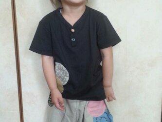 アップリケのかぼちゃパンツ&Tシャツsetの画像