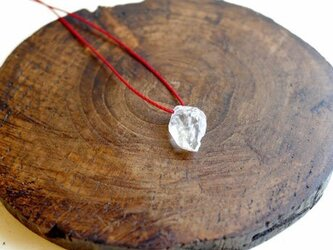 ヒマラヤ水晶/シンプルネックレス 280の画像
