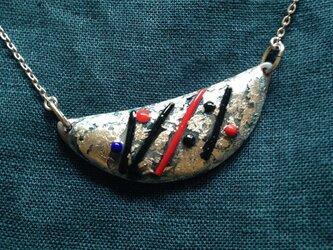 七宝焼のネックレスの画像