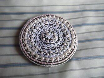 レース風パール刺繍髪飾り[B-2]の画像