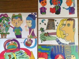 ポストカード5枚組の画像