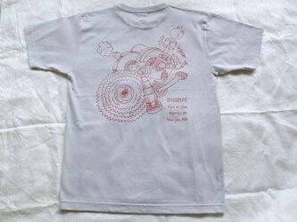 T-シャツ <ENGINE> グレー  Lサイズの画像
