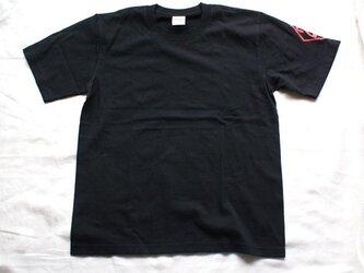 T-シャツ <2%> 黒  Mサイズの画像