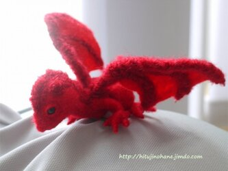 ドラゴン(ブローチ)生後数カ月 ※肩乗り可の画像