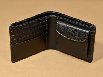 【お好きな色で製作】イタリアンレザー の二つ折り財布の画像