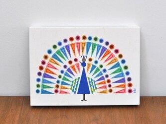 ファブリックパネル「peacock」の画像