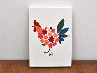 ファブリックパネル「Bird of bouquet」の画像