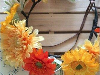 toka*ガーベラの花かんむり #08の画像