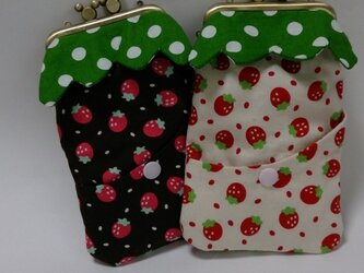 smart phone case (fraise brown)の画像