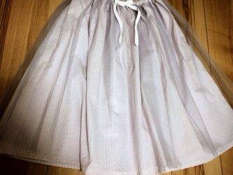 チュールスカート violet ballerinaの画像