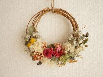 芍薬 けいとう wreathの画像