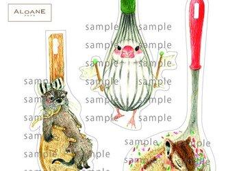 キッチン アニマル カードの画像