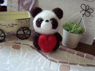 パンダ(はーと/A)の画像
