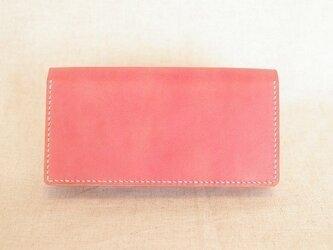 長財布 《 Rose Pink 》の画像