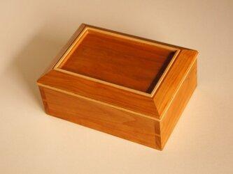 小箱 チェリー材の画像