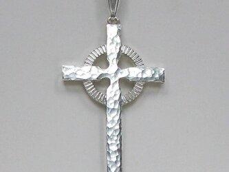 伝統的なモチーフ アイルランドのケルト十字架 cc22 好評ですの画像