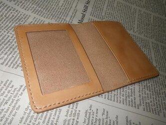 本革免許証&カードケースの画像