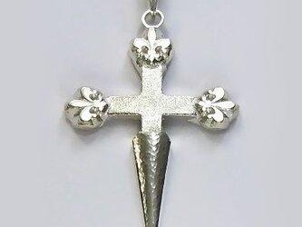 伝統的なモチーフ サンティアゴ・デ・コンポステーラの十字架 cc28 好評ですの画像
