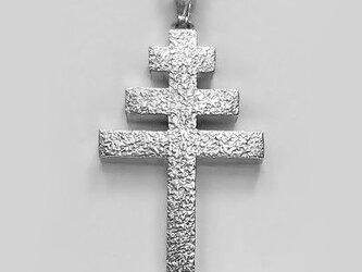 伝統的なモチーフ 教皇十字架 cc31 好評ですの画像