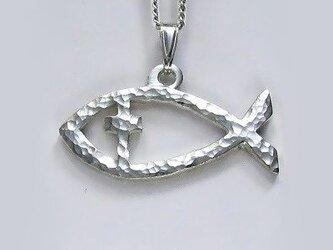 伝統的なモチーフ 魚のペンダント(B) cc53 好評ですの画像