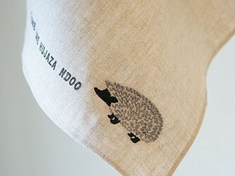 はりねずみ Hedgehog/リネンクロス の画像
