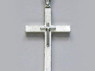 イエス・聖母マリア・教義・聖霊・使徒などを表した作品 父と子のラテン十字架 ac05 好評ですの画像