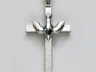 イエス・聖母マリア・教義・聖霊・使徒などを表した作品 降下する聖霊のクロス ac11 好評ですの画像