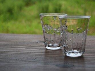 雫のグラス(クリア)の画像