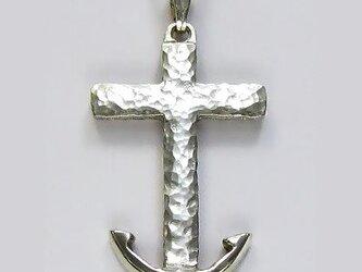 イエス・聖母マリア・教義・聖霊・使徒などを表した作品 錨(希望と教会の象徴)のクロス ac81 好評ですの画像