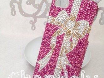 各種スマホケース【ピンクのプレゼンント】の画像