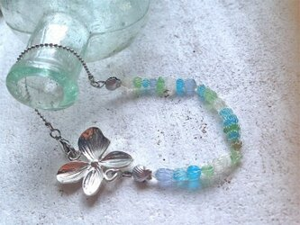 Seashore Bracelet with Orchidの画像