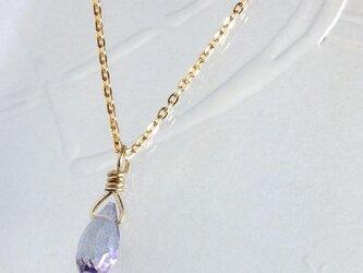 ミスティックトパーズのネックレスの画像